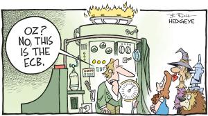 Draghi nous aura TOUT fait. Sauf se taire - hedgeye