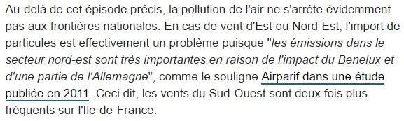 un petit paragraphe sur la pollution en anglais