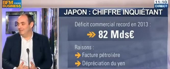 olivier delamarche - BFM Business - Japon