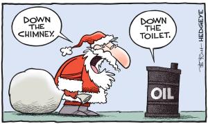 L'effet placebo est terminé et le pétrole reprend ses droits